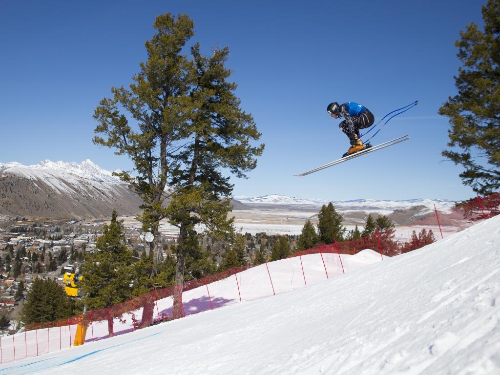 Mini Hahnenkamm Town Downhill at Snow King Mountain